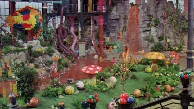 Willy Wonka main hall